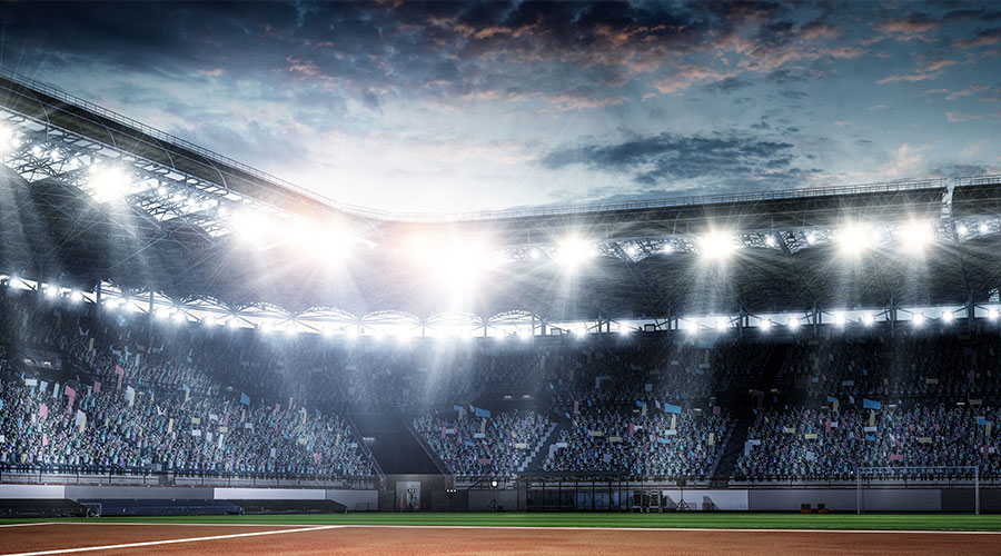 sports stadium energy efficiency